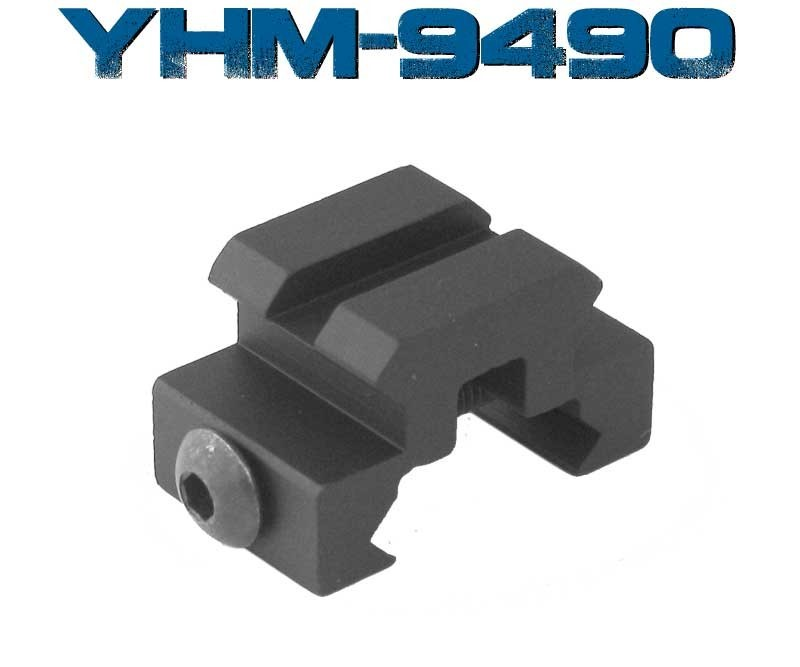 """YHM Accessories 9490 1/2"""" 1 SLOT PICATINNEY"""