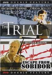 DVD BOX SET DVD THE TRIAL ESCAPE FROM SOBIBOR