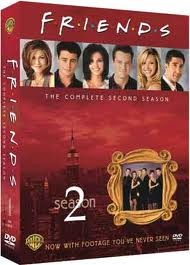 DVD BOX SET DVD FRIENDS SEASON 2