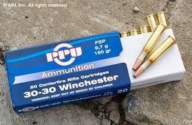 PPU AMMUNITION Ammunition 30-30