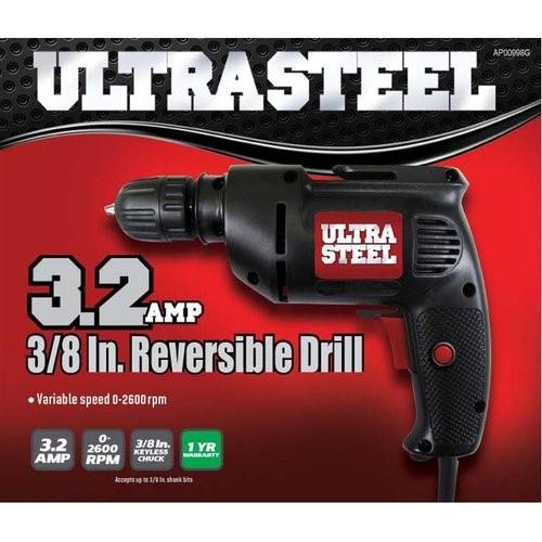 ULTRA STEEL Corded Drill AP00998G