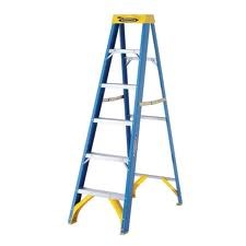 WERNER LADDER Ladder 6FT FIBERGLASS