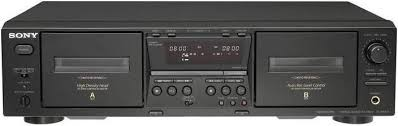SONY Tape Player/Recorder TC-WE475