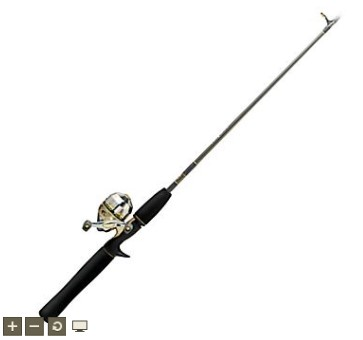 BASS PRO SHOP Fishing Pole ROD AND REEL