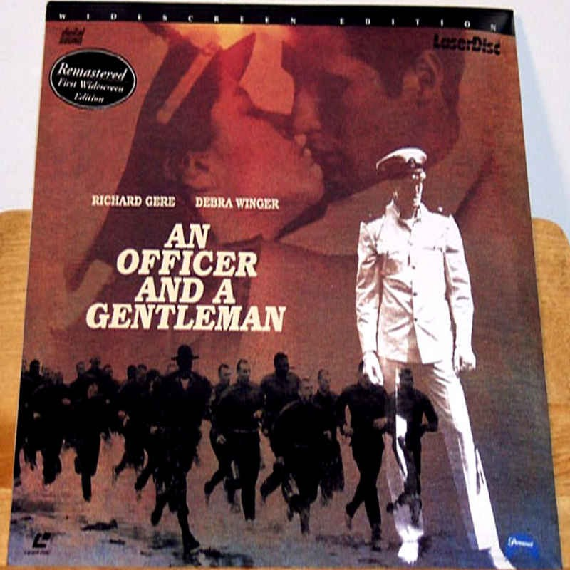 LASER DISC Laser Disk AN OFFICER AND A GENTLEMAN