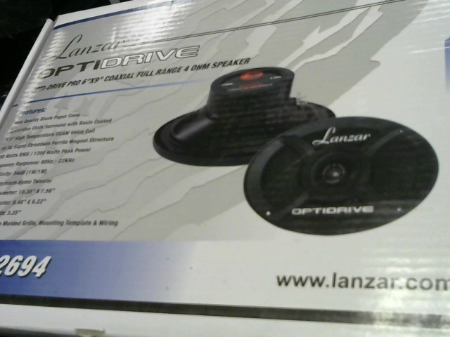 LANZAR CAR AUDIO Car Speakers/Speaker System OPTI2694