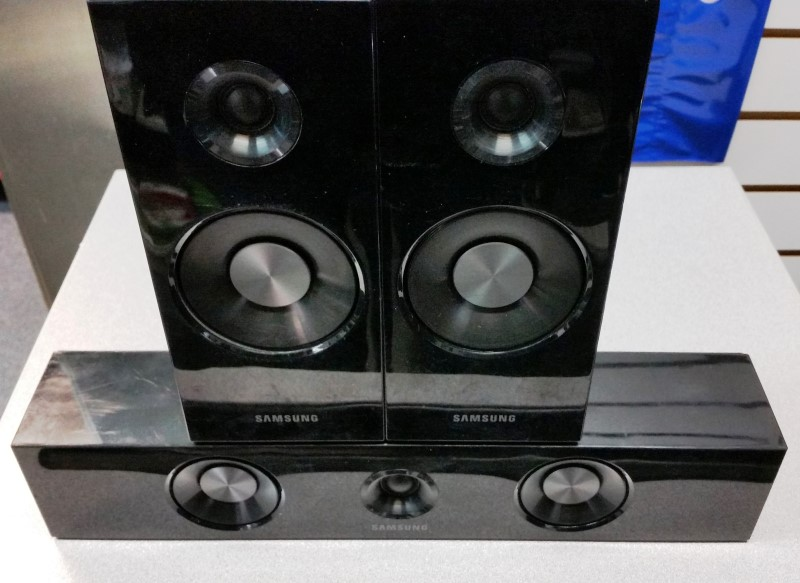 SAMSUNG Surround Sound Speakers & System PS-FC6600