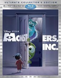 BLU-RAY 3D MOVIE Blu-Ray MONSTERS INC.