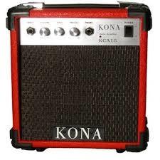 KONA Electric Guitar Amp KCA15RD - RED GUITAR AMP