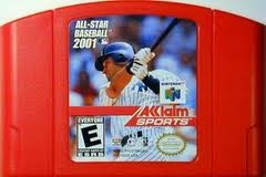 NINTENDO Nintendo 64 64 ALL-STAR BASEBALL 2001
