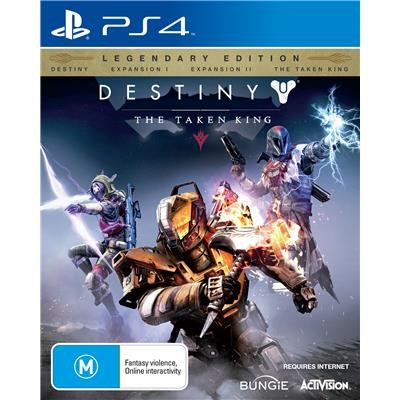 SONY Sony PlayStation 4 Game DESTINY THE TAKEN KING - PS4