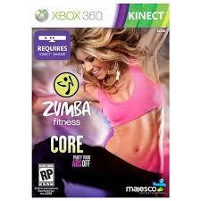 MICROSOFT Microsoft XBOX 360 Game ZUMBA FITNESS CORE