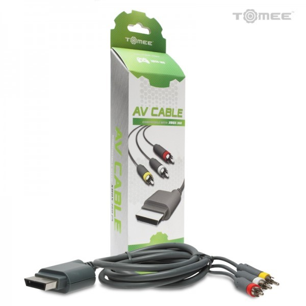 TOMEE Video Game Accessory M06002 XBOX 360 AV CABLE