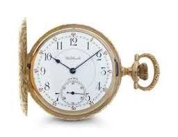 WALTHAM Pocket Watch 14K-WALTHAM