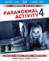 BLU-RAY MOVIE PARANORMAL ACTIVITY 4