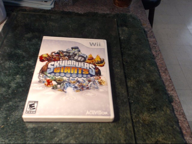 NINTENDO Nintendo Wii Game WII SKYLANDERS GIANTS