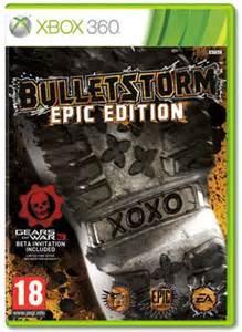 MICROSOFT Microsoft XBOX 360 Game X BOX 360 BULLETSTORM EPIC EDITION