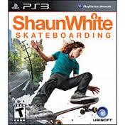 SONY Sony PlayStation 3 Game SHAUN WHITE SKATEBOARDING