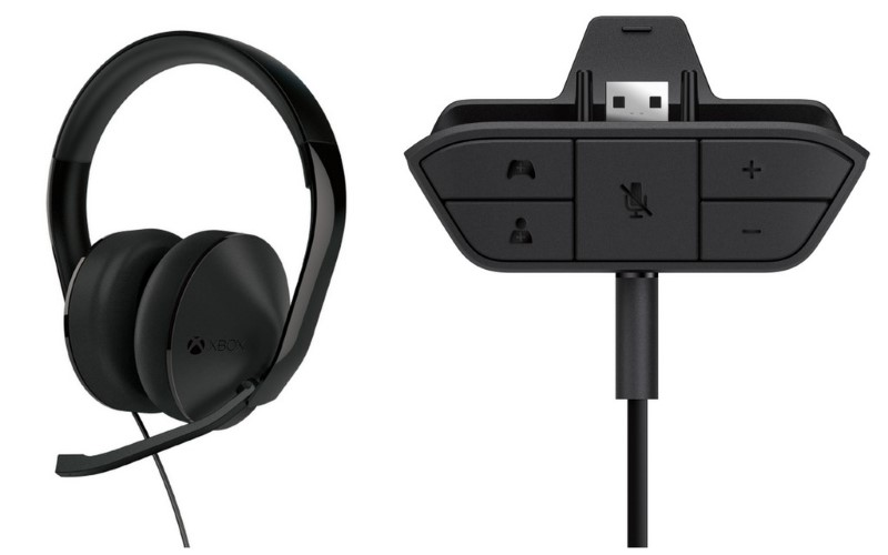 MICROSOFT Headphones XBOX ONE - CHAT HEADSET - HEADPHONE