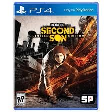 SONY Sony PlayStation 4 Game INFAMOUS SECOND SON LIMITED EDITION