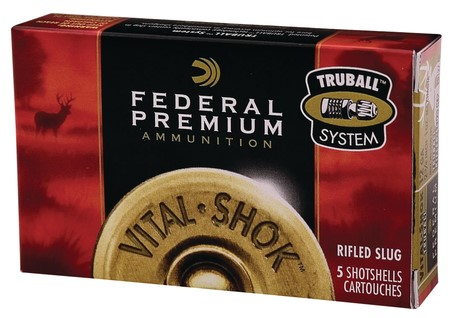 FEDERAL AMMUNITION Ammunition VOTAL-SHOK RIFLED SLUGS - 20 GAUGE