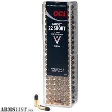 CCI AMMO Ammunition 22 SHORT 100RDS