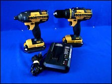 BOSTITCH Impact Wrench/Driver BTC440/BTC400 COMBO SET