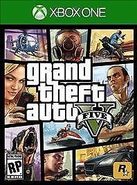 MICROSOFT Microsoft XBOX One Game GRAND THEFT AUTO V - XBOX ONE