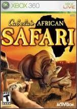 MICROSOFT Microsoft XBOX 360 Game CABELAS AFRICAN SAFARI