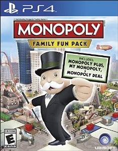 SONY Sony PlayStation 4 Game MONOPOLY FAMILY FUN PACK - PS4