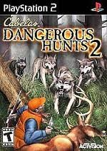 SONY Sony PlayStation 2 Game CABELAS DANGEROUS HUNTS 2 (PS2)