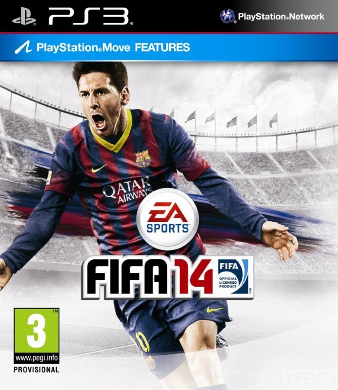 SONY Sony PlayStation 3 Game PS3 FIFA14