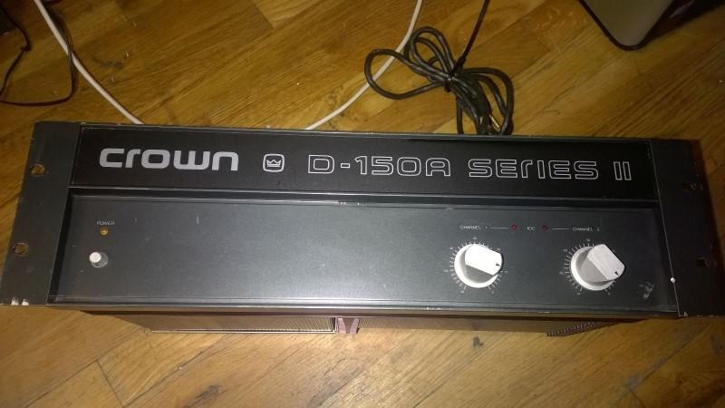 CROWN Rack Gear D-150A SERIES II