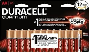 DURACELL AA 12 PACK