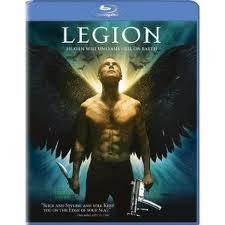 LEGION, BLU-RAY DVD MOV