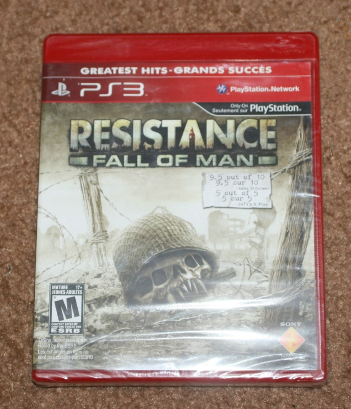 INSOMNIAC GAMES Sony PlayStation 3 Game RESISTANCE: FALL OF MAN (GH)-PS3
