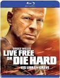 BLU-RAY MOVIE Blu-Ray LIVE FREE OR DIE HARD