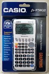 CASIO Calculator FX-9750GII