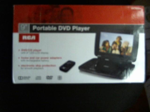 RCA Portable DVD Player DRC99392E PORTABLE DVD PLAYER