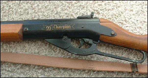 DAISY Air Gun/Pellet Gun/BB Gun CHAMPION 99