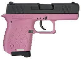 DIAMONDBACK FIREARMS Pistol DB9HP PINK POLY/BLK