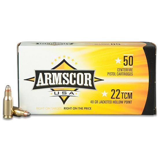 ARMSCOR Ammunition 22 TCM AMMO