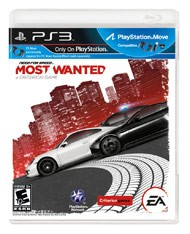 SONY Sony PlayStation 3 Game NEED FOR SPEED MOST WANTED PS3