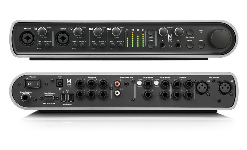 AVID Mini-Stereo MBOX PRO3