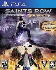 Saints Row IV: Re-Elected & Gat Out of Hell First Edition (PlayStation 4, 2015)