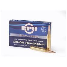 PPU AMMUNITION Ammunition 25-06 REMINGTON
