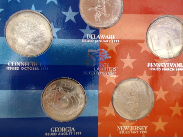 UNITED STATES Collection AMERICAN SPIRIT COLLECTION 5 PIECE QUARTER 1999 D