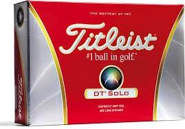 TITLEIST Golf Accessory DT SOLO GOLF BALLS