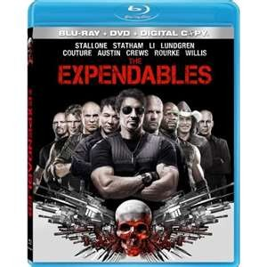 THE EXPENDABLES BLU-RAY (3) DISC SET.