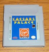 NINTENDO Vintage Game GAMEBOY COLOR CAESARS PALACE
